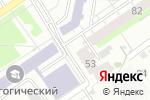 Схема проезда до компании Ваш Советник в Барнауле