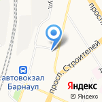 Магазин товаров для садоводов на карте Барнаула