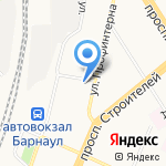 Грэйс на карте Барнаула