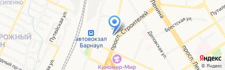 Ф.О.Н. на карте Барнаула