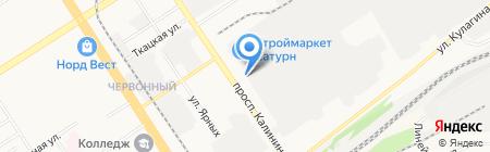 Управляющая логистическая компания на карте Барнаула