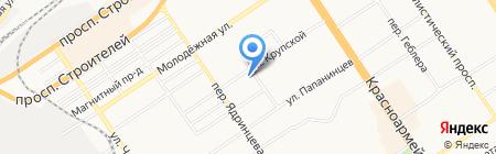 Современное строительство на карте Барнаула