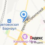 ФОНБЕТ на карте Барнаула