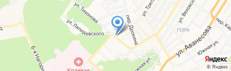 Мюнхгаузен на карте Барнаула