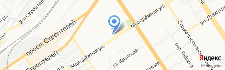 Ермолинские продукты на карте Барнаула
