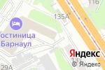 Схема проезда до компании Неро-Мед в Барнауле
