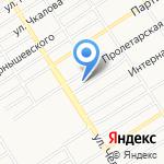 Алант на карте Барнаула