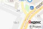 Схема проезда до компании 1xBET в Барнауле