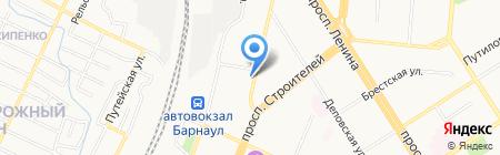 Академия ногтевой эстетики на карте Барнаула