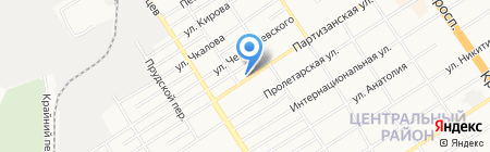 АВТОаМИКС на карте Барнаула