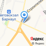 Магазин дисков на карте Барнаула