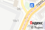 Схема проезда до компании Сделано в СССР в Барнауле