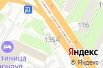 Схема проезда до компании Халяль в Барнауле