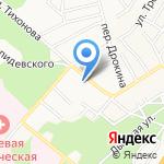 Станкостроитель на карте Барнаула