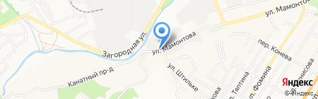 Охрана МВД РФ по Алтайскому краю на карте Барнаула