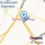 Торро Стейк на карте Барнаула