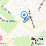 Легион на карте Барнаула
