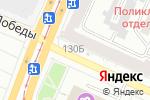 Схема проезда до компании Киоск по продаже хлебобулочных изделий в Барнауле