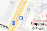 Схема проезда до компании Сеть салонов-магазинов тканей и швейных машин в Барнауле