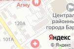 Схема проезда до компании Домовой, ТСЖ в Барнауле