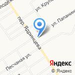 Приборы учета 100 градусов на карте Барнаула