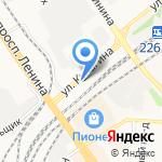 Алтайвуд на карте Барнаула