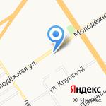Алтайский государственный аграрный университет на карте Барнаула