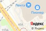 Схема проезда до компании MORRIS SHOP в Барнауле