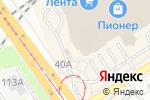 Схема проезда до компании Чикаго в Барнауле