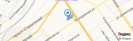 Аренда22 на карте Барнаула