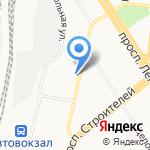 Шляхтич Е.В. на карте Барнаула