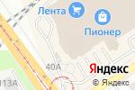 Схема проезда до компании Лимонад №1 в Барнауле