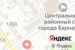 Схема проезда до компании info-садик в Барнауле