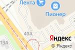 Схема проезда до компании Мир удивительных товаров в Барнауле