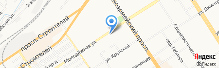 НОВЭКС на карте Барнаула