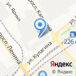 ХАРВЕСТ на карте Барнаула