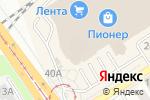 Схема проезда до компании Пионер Кофе в Барнауле