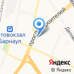 Batel на карте Барнаула