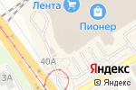 Схема проезда до компании Lavantel в Барнауле