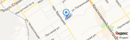 MA-FRA на карте Барнаула