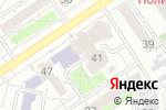 Схема проезда до компании ROCK-SHOP UNDERGROUND в Барнауле
