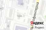 Схема проезда до компании Островок в Барнауле
