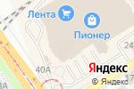 Схема проезда до компании Yota в Барнауле