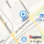 Барнаульская металлокомпания+ на карте Барнаула