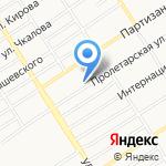 Тэсла на карте Барнаула