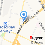 ФинУчёт на карте Барнаула