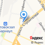 Лингвист на карте Барнаула