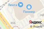 Схема проезда до компании Reni в Барнауле