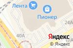 Схема проезда до компании МТС, ПАО в Барнауле