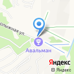 Лесная заимка на карте Барнаула